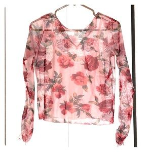 Small long sleeve blouse
